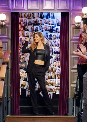 Gisele Bundchen at 'The Late Late Show With James Corden' in LA