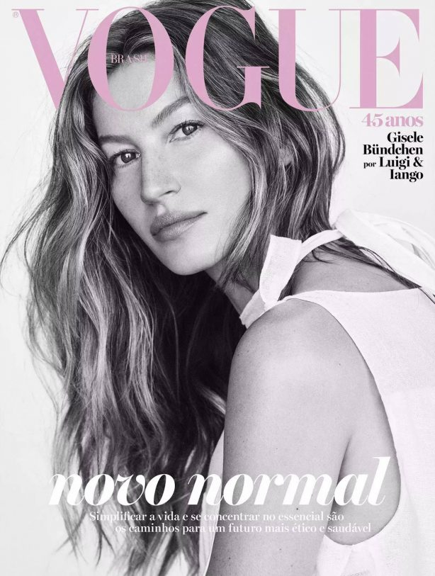 Gisele Bundchen for Vogue Brazil Cover (May 2020)