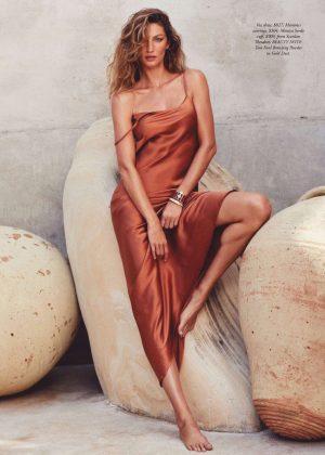 Gisele Bundchen - Harpers Bazaar Australia Magazine (January 2019)