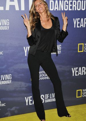 Gisele Bundchen - National Geographic's Years Of Living Dangerously Premiere in New York
