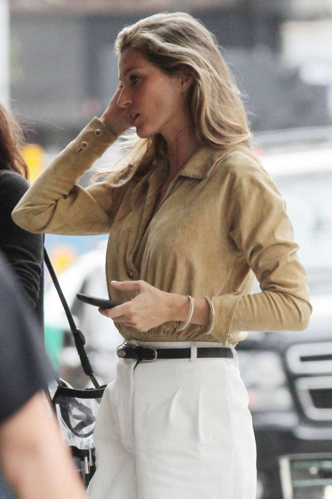 Gisele Bundchen Out in NYC