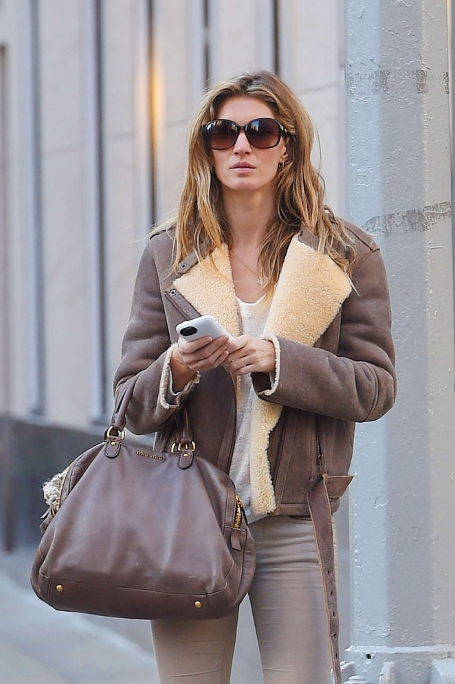 Gisele Bundchen - Out in NYC