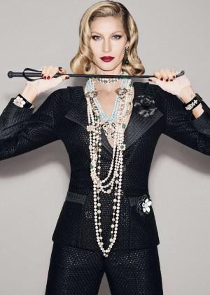 Gisele Bundchen - Vogue Brazil Magazine (December 2015)