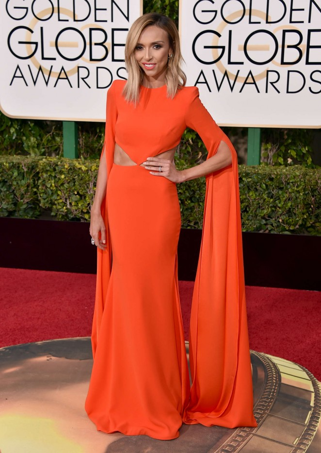 Giuliana Rancic - 2016 Golden Globe Awards in Beverly Hills
