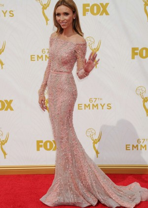 Giuliana Rancic - 2015 Primetime Emmy Awards in LA
