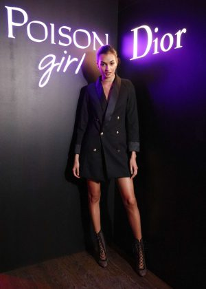 Gizele Oliveira - Dior Celebrates 'Poison Girl' in New York