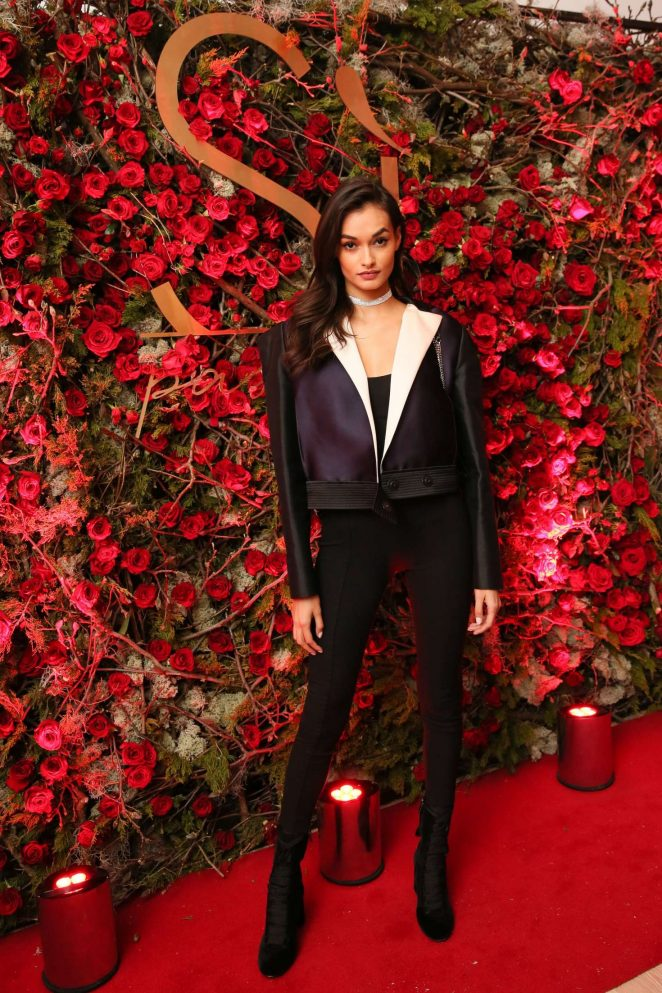 Gizele Oliveira - Giorgio Armani 'Si Passione' Fragrance and Vogue Launch in NY