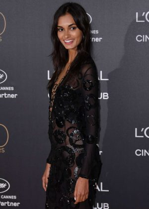 Gizele Oliveira - L'Oreal 20th Anniversary Party in Cannes