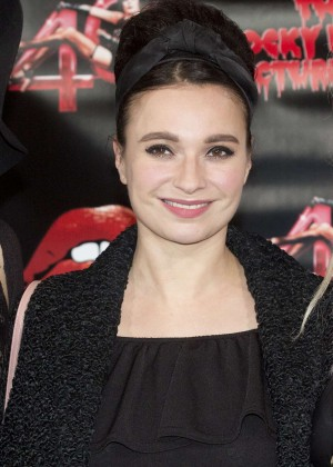 Gizzi Erskine - The Rocky Horror Picture Show: 40th Anniversary Screening in London