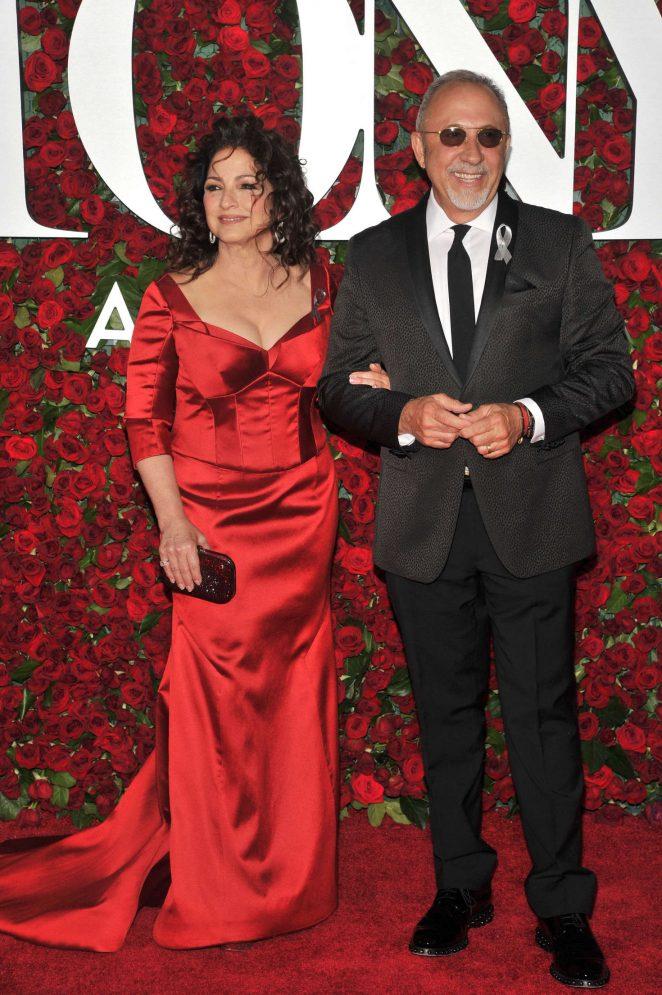 Gloria Estefan - 2016 Tony Awards in New York