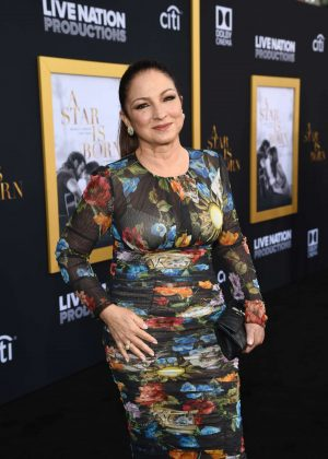 Gloria Estefan - 'A Star is Born' Premiere in LA