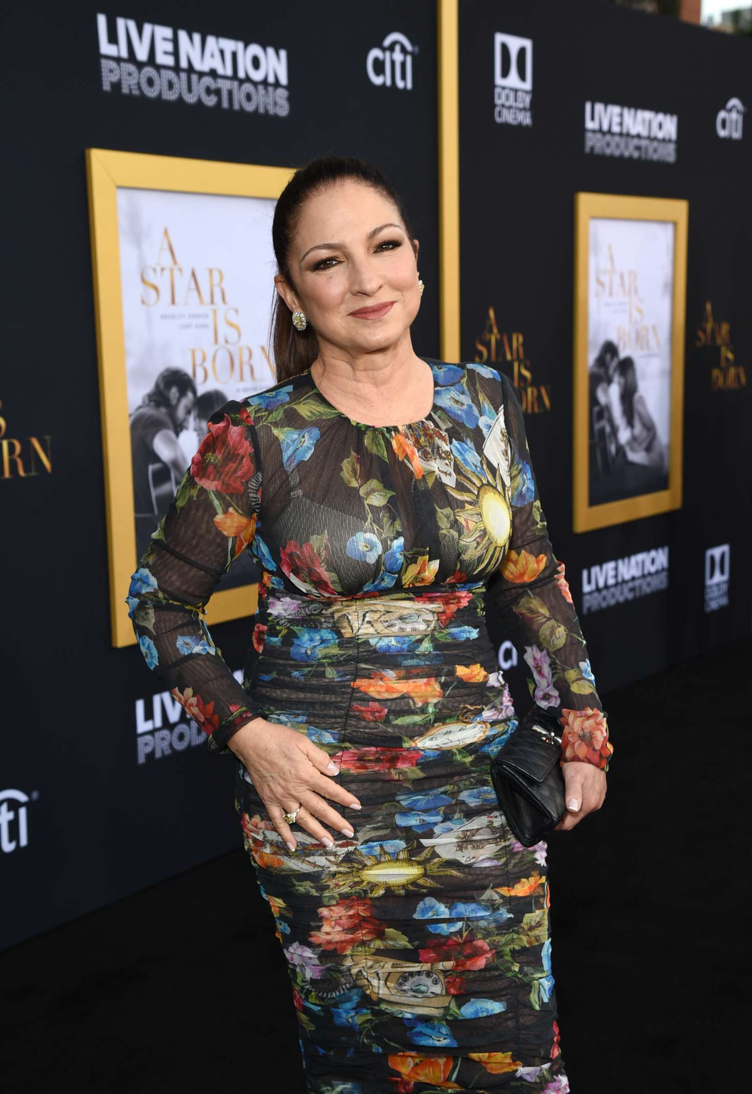 Gloria Estefan – 'A Star is Born' Premiere in LA