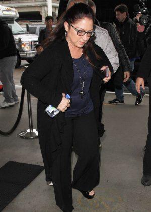 Gloria Estefan at LAX airport in Los Angeles