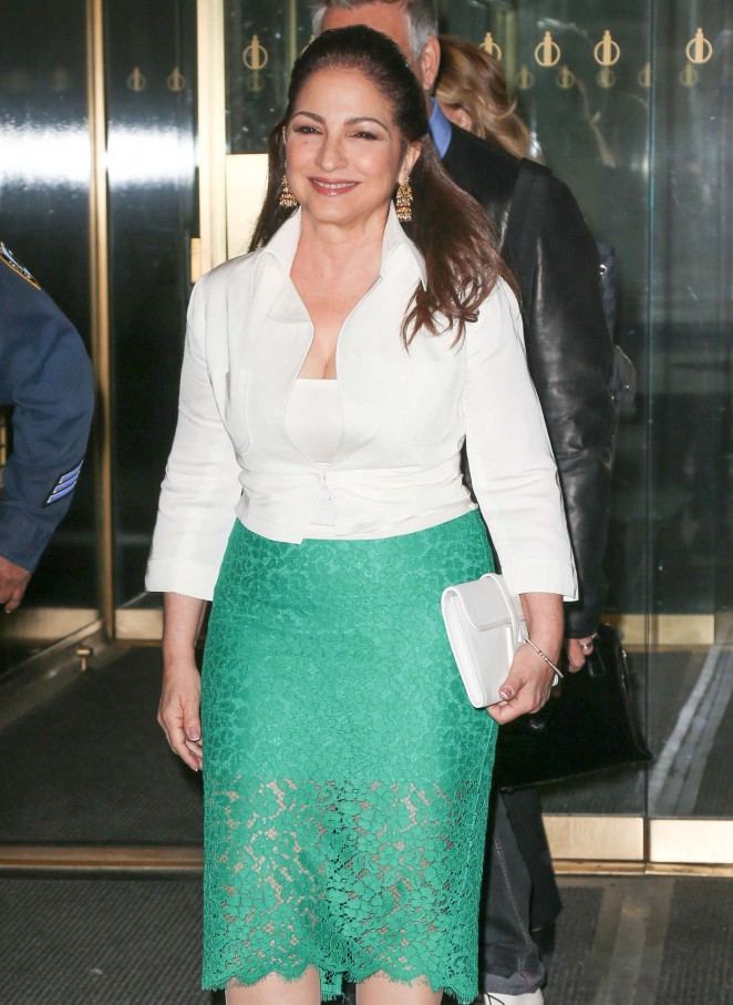 Gloria Estefan at The Today Show in New York City