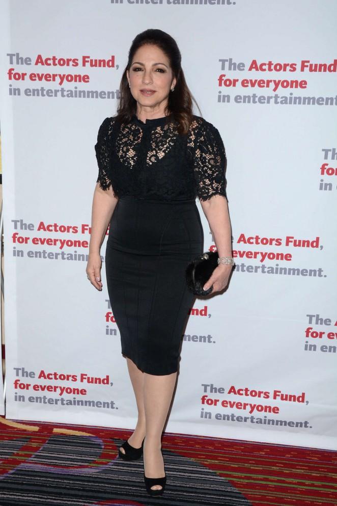 Gloria Estefan - The Actors Fund 2016 Gala in New York