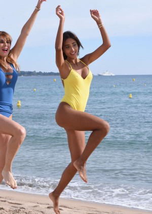 Gloria Patricia Contreras in Swimsuit on The Lady 3 set -05