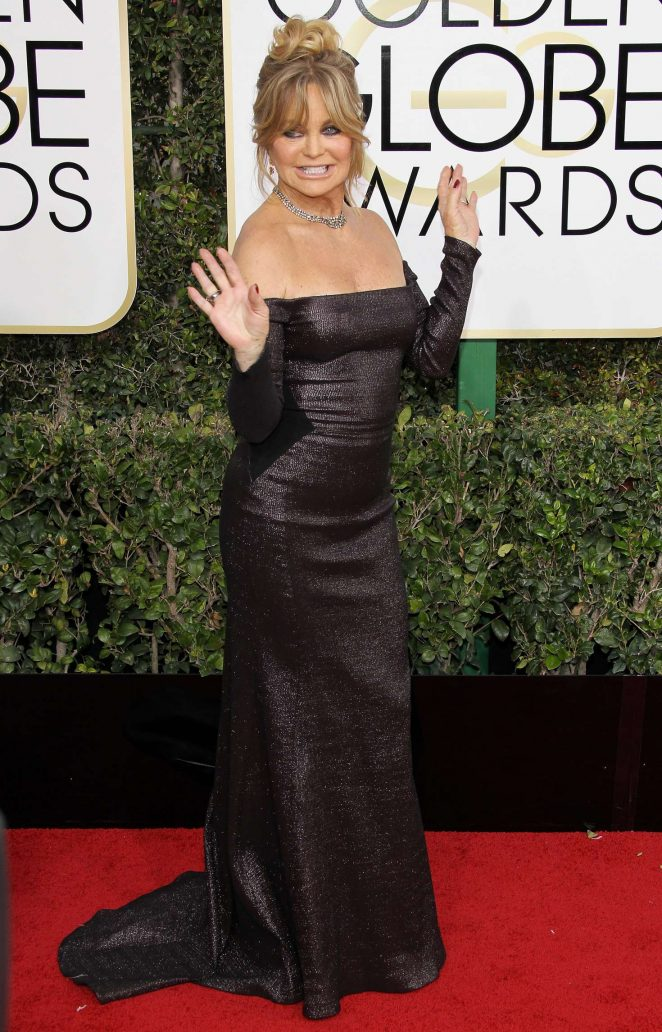 Goldie Hawn - 74th Annual Golden Globe Awards in Beverly Hills