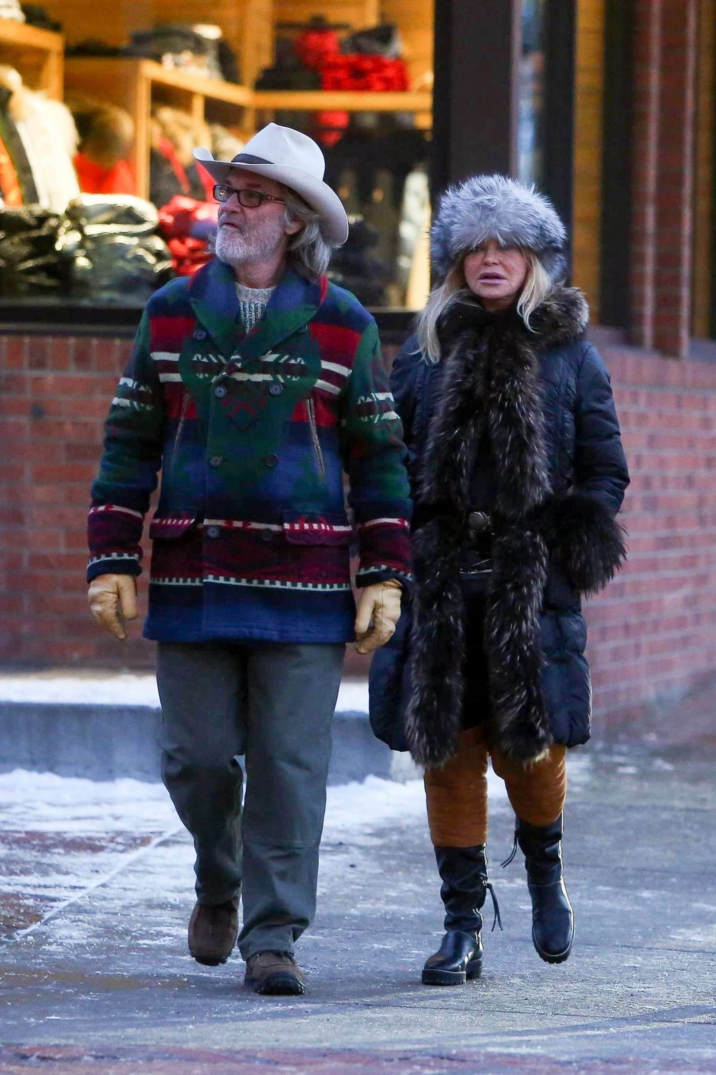 Goldie Hawn 2019 : Goldie Hawn and Kurt Russell: On New Years Day -05