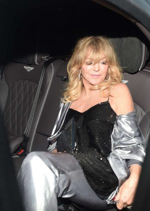 Goldie Hawn - Goldie's Love in Charity Fundraiser in London