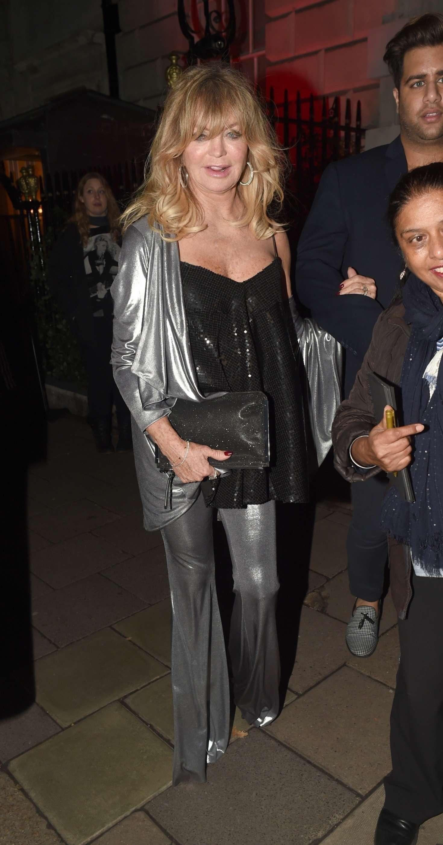Goldie Hawn 2018 : Goldie Hawn: Goldies Love in Charity Fundraiser -09