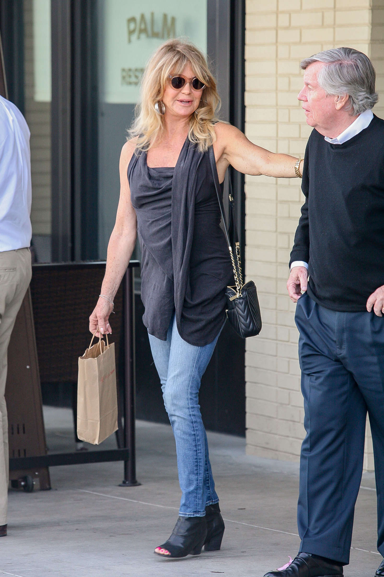 Goldie Hawn in Jeans out in Los Angeles
