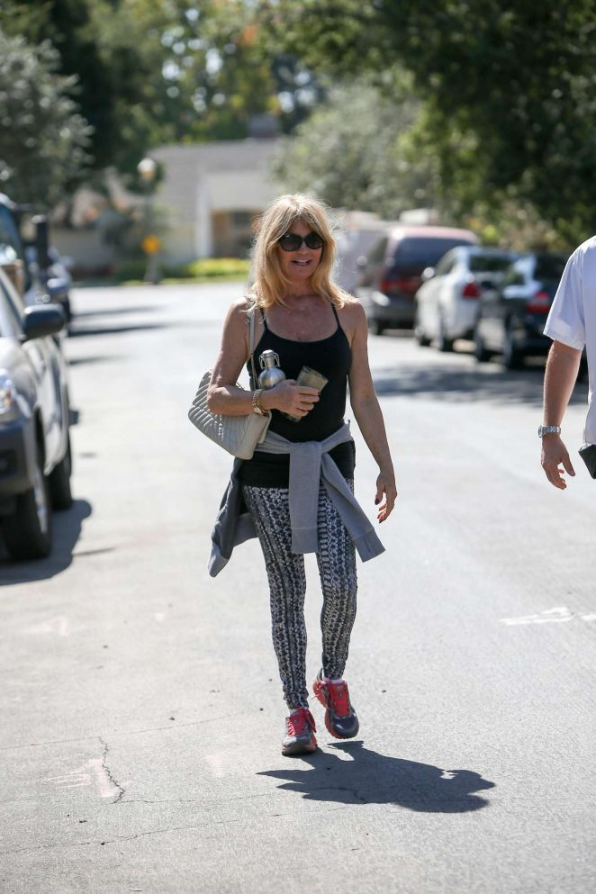Goldie Hawn out and about in LA