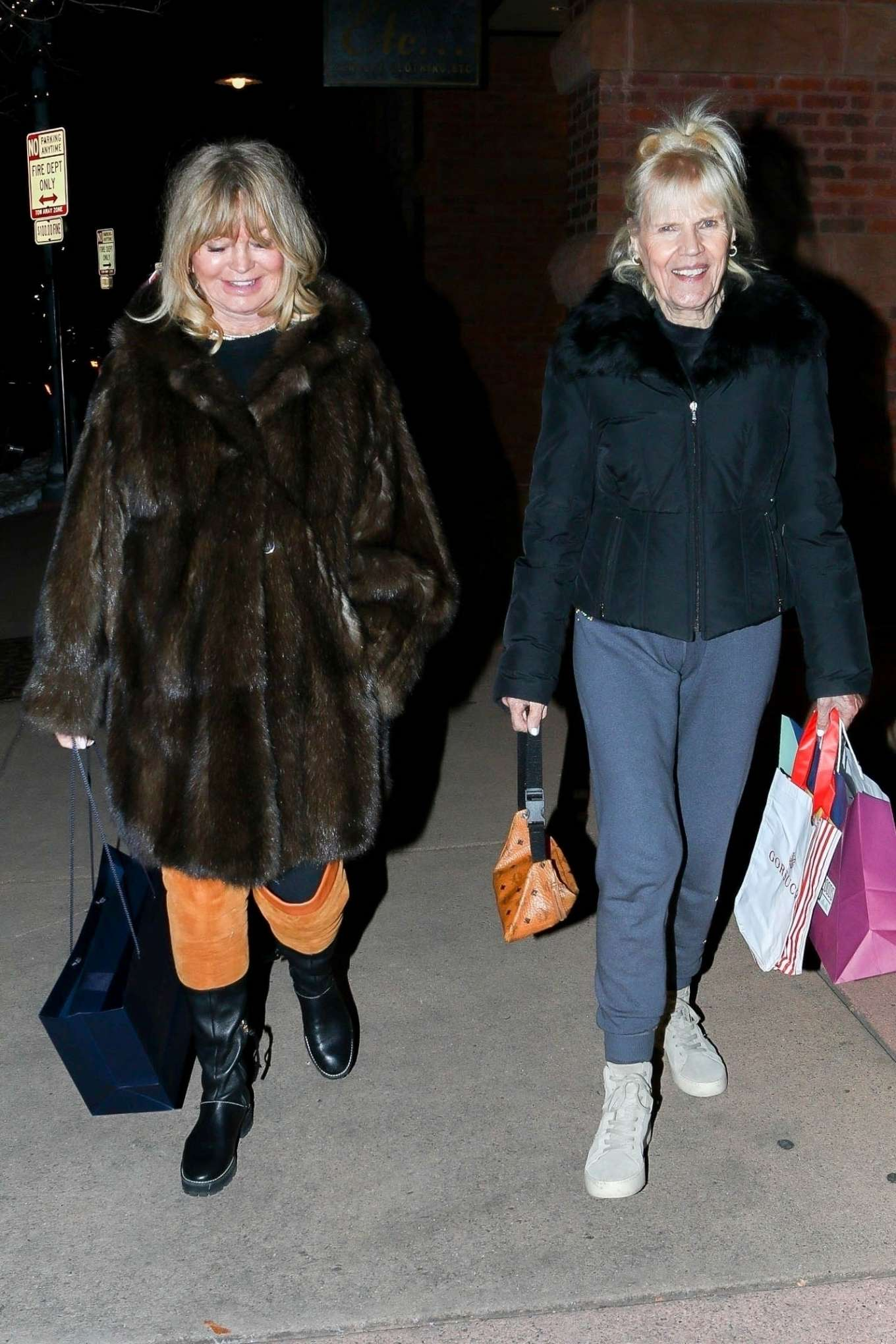 Goldie Hawn 2019 : Goldie Hawn – Shopping with a friend in Aspen-06