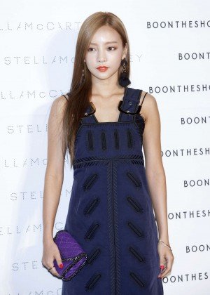 Goo Ha-ra - Stella McCartney 'The World Of Stella At BoonTheShop' Photocall in Seoul