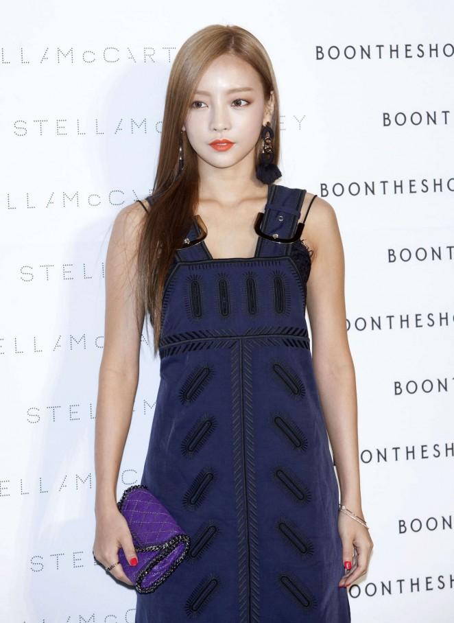 Goo Ha-ra - Stella McCartney 'The World Of Stella At BoonTheShop' Photocall in Seoul