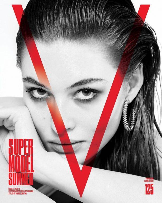 Grace Elizabeth for V Magazine #125 Summer 2020