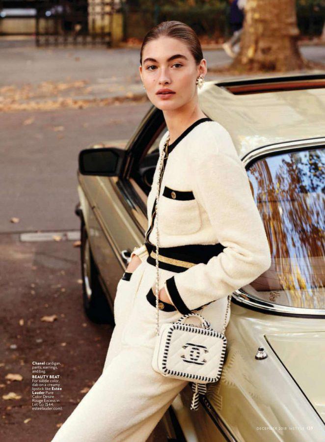Grace Elizabeth - InStyle Magazine (December 2018)