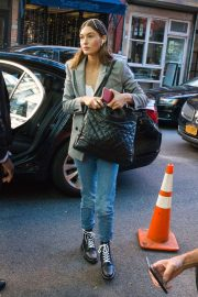 Grace Elizabeth - Out and about at New York Fashion Week