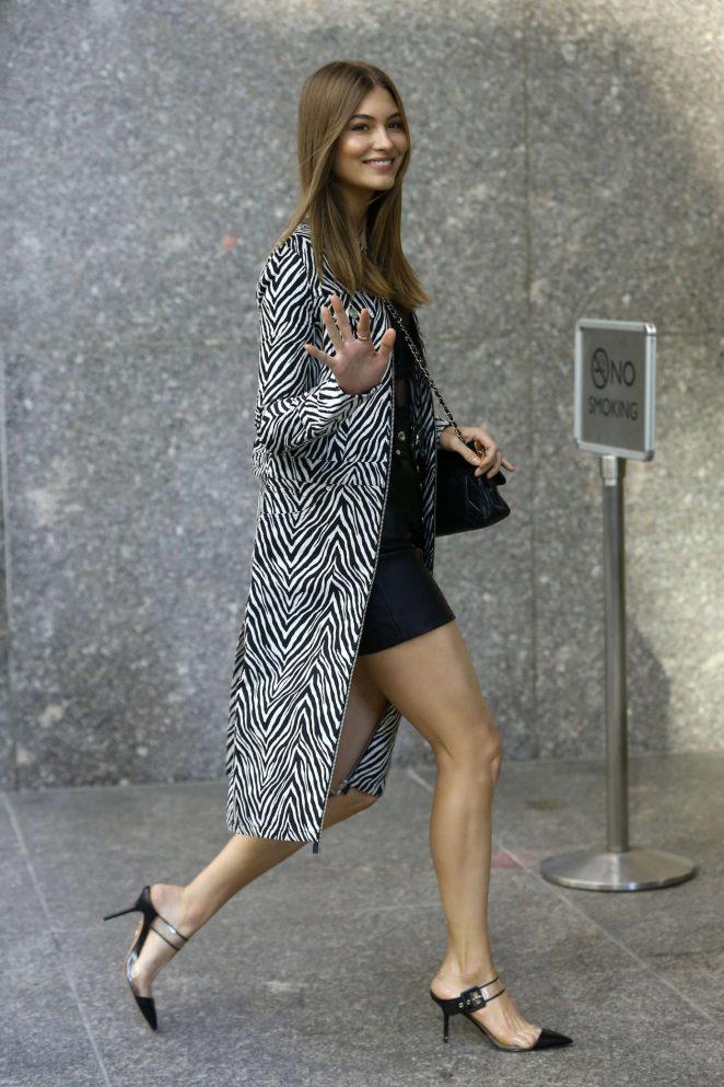 Grace Elizabeth - Victoria's Secret Fashion Show Fittings in New York