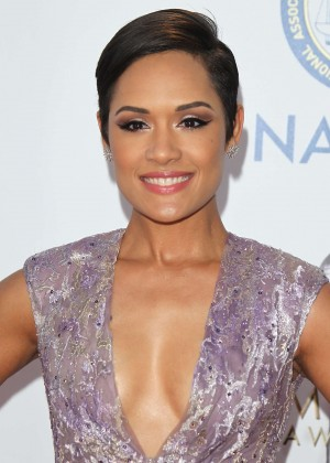 Grace Gealey - 2016 NAACP Image Awards in Pasadena