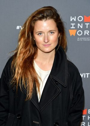 Grace Gummer - 8th Annual Women in the World Summit in NY