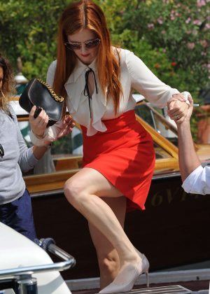 Grace Gummer at 73rd Venice Film Festival in Italy
