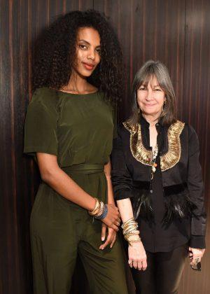 Grace Mahary - Barneys New York celebrates Sidney Garber Jewelry in NYC