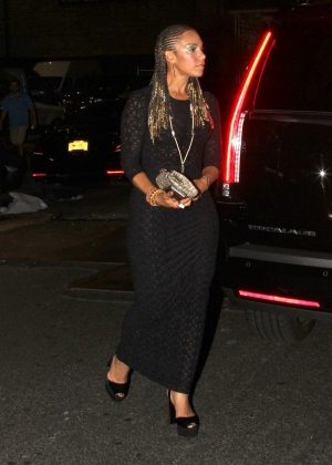 Grace Miguel - Arrives at Beyonce's Birthday Party in New York