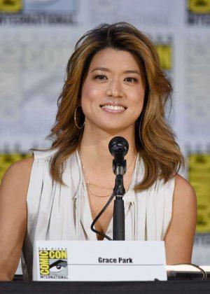 Grace Park - 2017 Battlestar Galactica Reunion Panel - Comic-con In San Diego