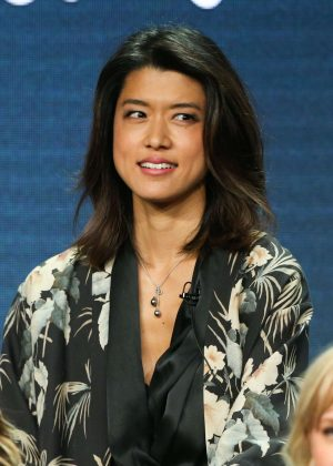 Grace Park - 'A Million Little Things' Panel at 2018 TCA Summer Press Tour in Los Angeles