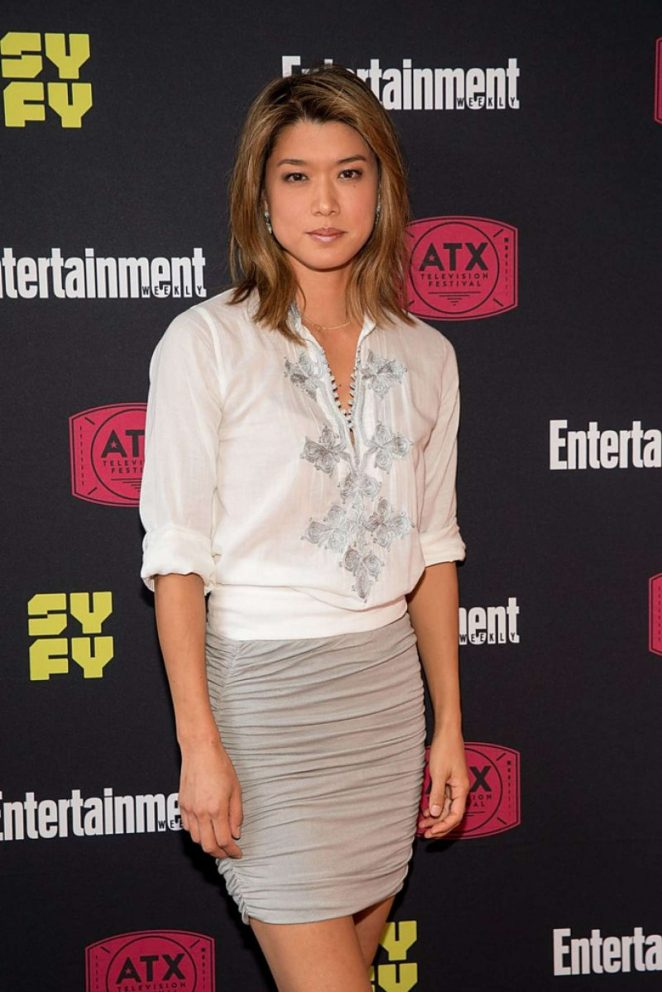 Grace Park – Battlestar Galactica Reunion Panel in Austin