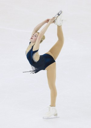 Gracie Gold - 2015 ISU World Figure Skating Championships in Shanghai