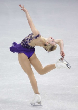 Gracie Gold - ISU Four Continents Figure Skating Championships 2015 in Seoul