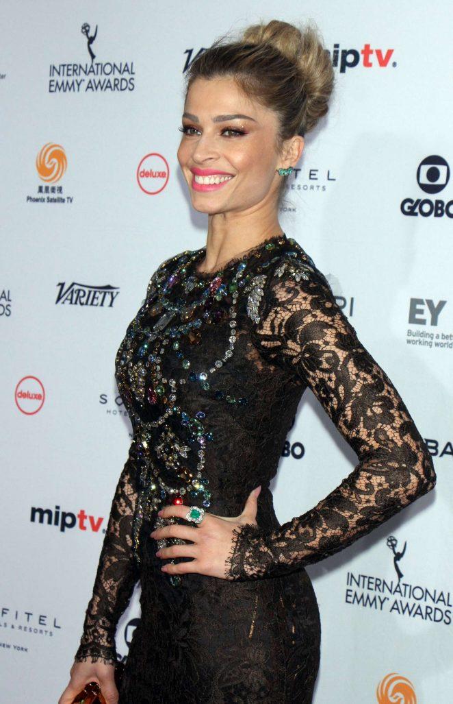 Grazi Massafera - 44th International Emmy Awards in New York
