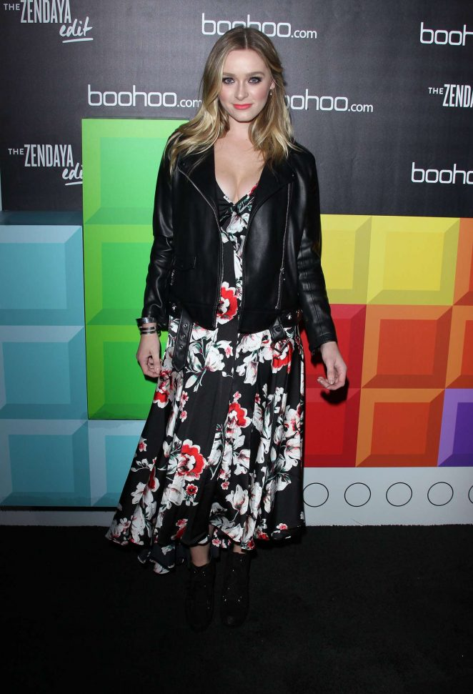 Greer Grammer – Boohoo Hosts 'The Zendaya Edit' Block Party in LA