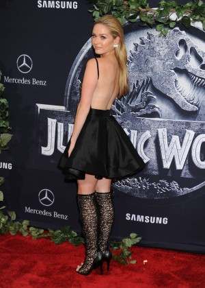 Greer Grammer - 'Jurassic World' Premiere in Hollywood