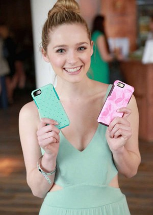 Greer Grammer - Kari Feinstein's Style Lounge in LA
