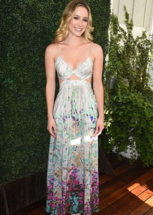 Greer Grammer - Lyda Beauty Launches Cleopatra Cat Eye Stamp in Los Angeles