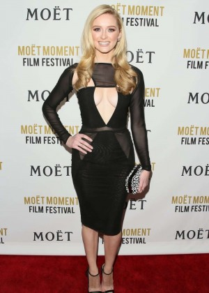 Greer Grammer: Moet And Chandon Celebrates 25 Years At The Golden Globes -02