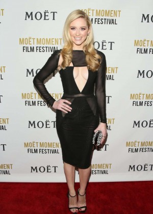 Greer Grammer: Moet And Chandon Celebrates 25 Years At The Golden Globes -06